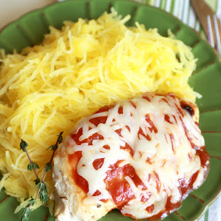Low Carb Chicken Parm with Spaghetti Squash Recipe