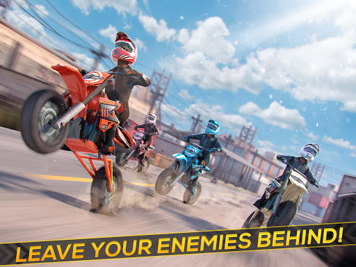 Real Motor Bike Racing - Highway Motorcycle Rider  screenshots 4