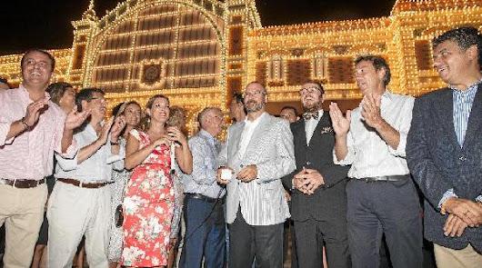 La portada hará que la Feria de Almería 2015 brille día y noche
