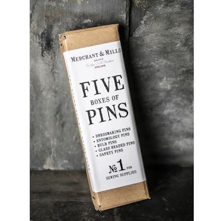 Nålkit - fem olika nålar