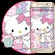 Pink Cute Kitty Theme apk