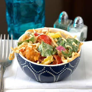 Hot and Spicy Hero Salad.
