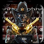 App Western Skull Gun Keyboard Theme APK for Windows Phone