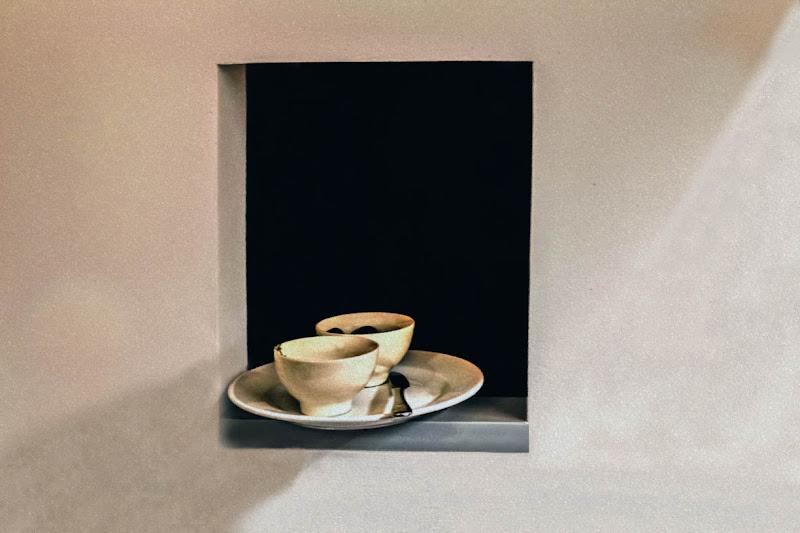 Natura Morta alla Giorgio Morandi di D. Costantini