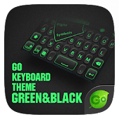 GREEN & BLACK GO KeyboardTheme