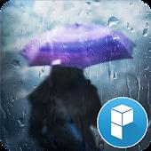 Rain and You Launcher Theme