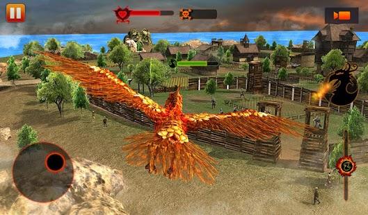Angry Phoenix Revenge 3D (Mod Money)