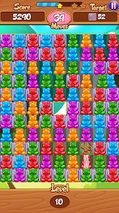 Gummy bear frenzy - match 3 - náhled