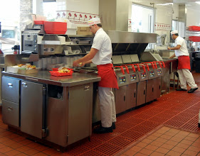 Photo: Inside In N Out in San Diego, CA