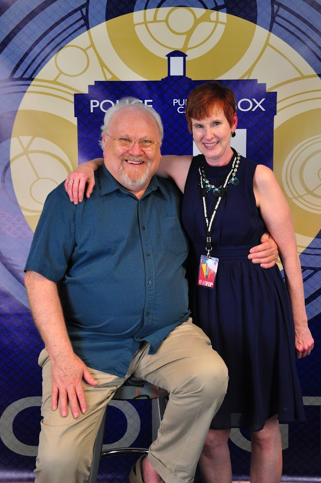 Me and Colin Baker
