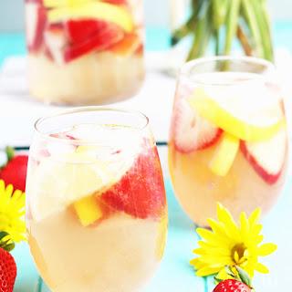 Strawberry Lemon Sangria.