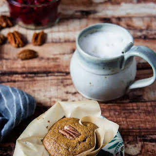Almond Flour Gingerbread Muffins.