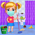Big Home Makeover - House Cleaning Game for Girls icon