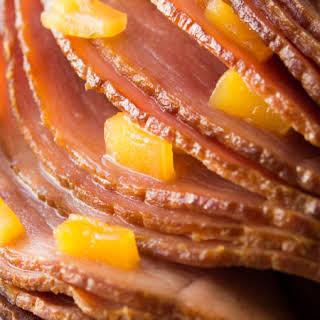 Crock Pot Brown Sugar Pineapple Ham.
