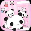 Cute Panda Love Theme Panda Icon Pack icon