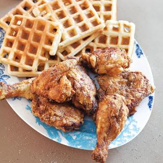 Buttermilk Chicken and Waffles.