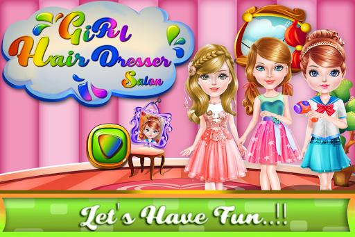 美容サロンの女の子のゲーム