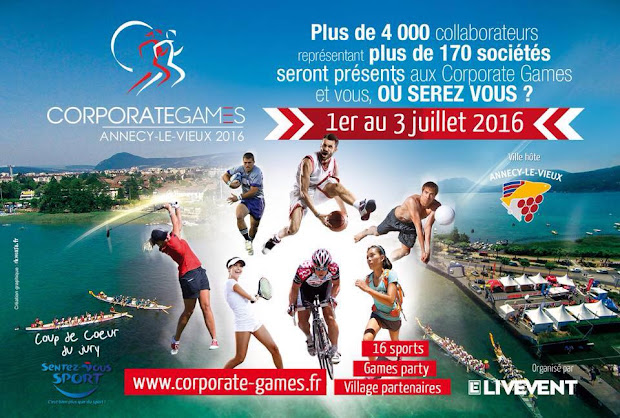 Corporate Games Annecy 2016