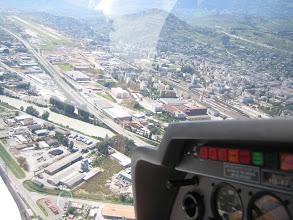 Photo: In base, just before landing in Sion http://www.swiss-flight.net
