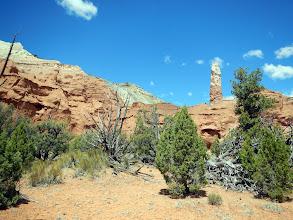 Photo: Rock chimney