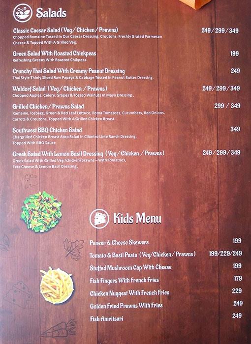 Hooked Seafood Restaurant menu 5