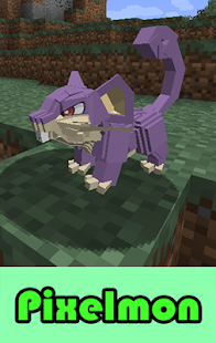 Pixelmon MODS For MCPE screenshot