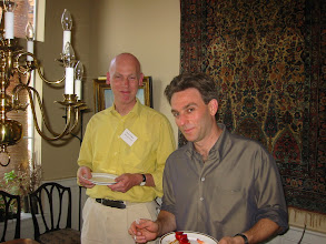 Photo: Professors Peter Wakker and Craig Fox
