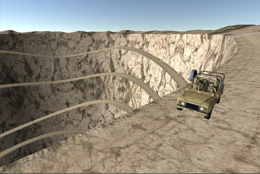 軍ジープ:戦場アクション