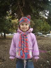 Photo: детский вязаный комплект Веселка