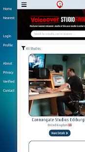 Voiceover Studio Finder- screenshot thumbnail