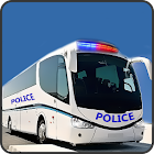 Offroad Police Bus Hill Driver icon