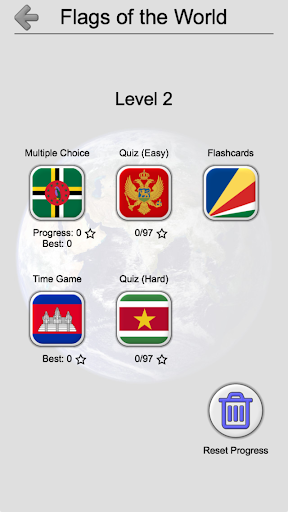 Flags of All Countries of the World: Guess-Quiz 2.2 screenshots 6