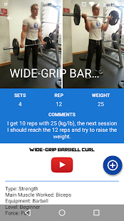 GYM Trainer fit bodybuilding- screenshot thumbnail