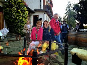 Photo: Cette année, Nicole Laurent (avec son mari Jean) font le rallye, dont leur fille Elisa va emporter la 3e marche du podium! quelle famille...
