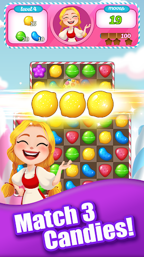 New Tasty Candy Bomb – #1 Free Candy Match 3 Game ss1