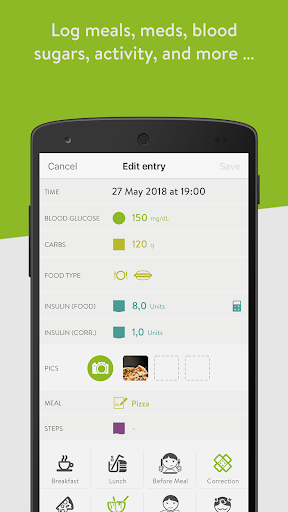 mySugr: the blood sugar tracker made just for you 3.54.6 screenshots 3