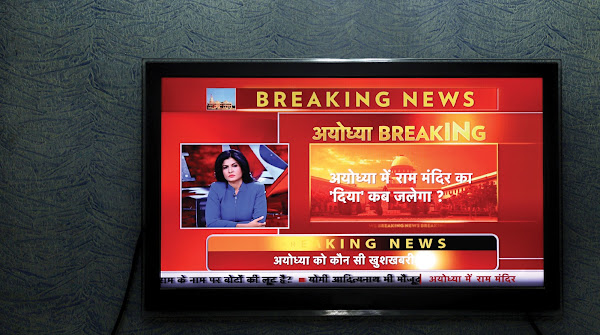 How Anjana Om Kashyap, a star of Hindi news television, sells the new normal