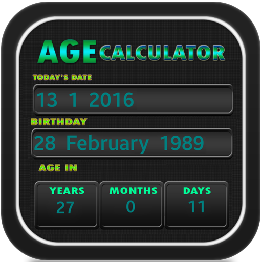 Age Calculator - Birthday file APK for Gaming PC/PS3/PS4 Smart TV