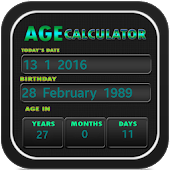 Age Calculator - Birthday