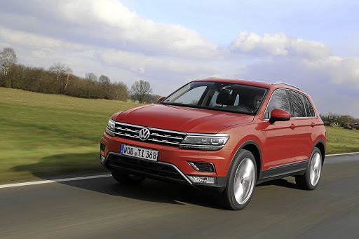 The Volkswagen Tiguan.   Picture: NEWSPRESS UK