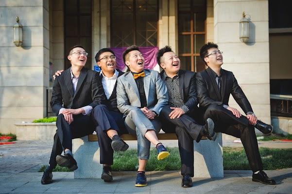 婚礼摄影师 Gang Sun (GangSun). 14.08.2016的图片
