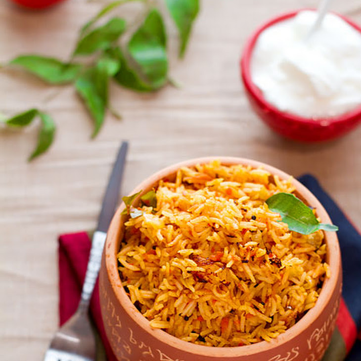 Paella Style Spiced Tomato Rice