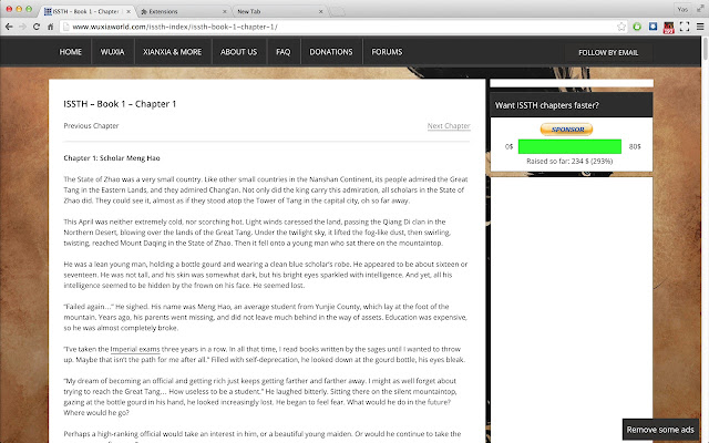 Wordpress Fullscreen Reader