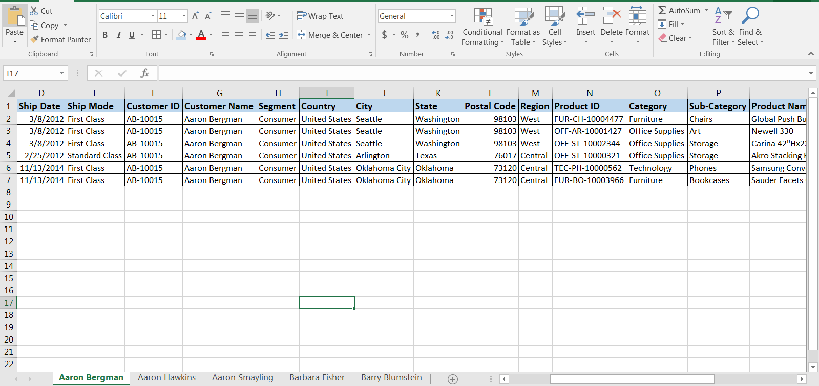 Use Case for Tableau Union 30