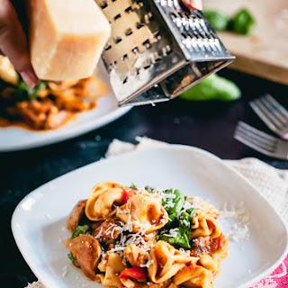 Vegetarian Italian Sausage Tortellini