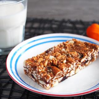 Healthy No-Bake Puffed Cereal Bars.