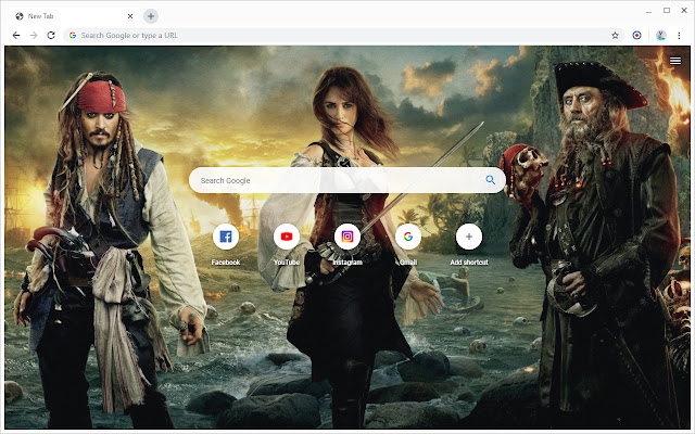 New Tab - Pirates of the Caribbean