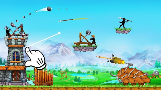 The Catapult 2 — Grow your castle tower defense 2