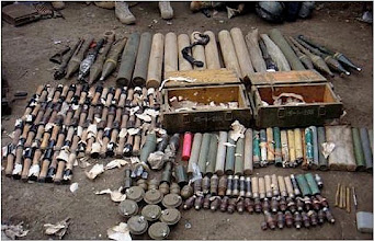 Photo: Afghan National Army and International Security Assistance Forces soldiers found hundreds of Taliban weapons, ammunition, artillery and improvised explosive device-making material in Marawara District during Operation Strong Eagle III in eastern Afghanistan's Kunar province March 29. Afghan national security forces worked closely with coalition forces from 2nd Battalion, 327th Infantry Regiment, 1st Brigade Combat Team, 101st Airborne Division, Task Force Bastogne. (Photo by U.S. Army Pfc. Cameron Boyd, 982nd Combat Camera)