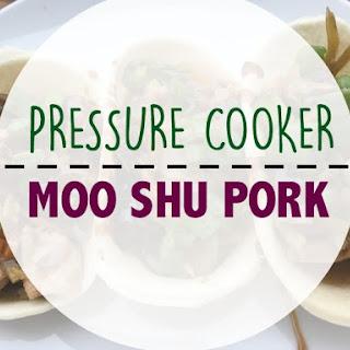 Pressure Cooker Moo Shu Pork Recipe